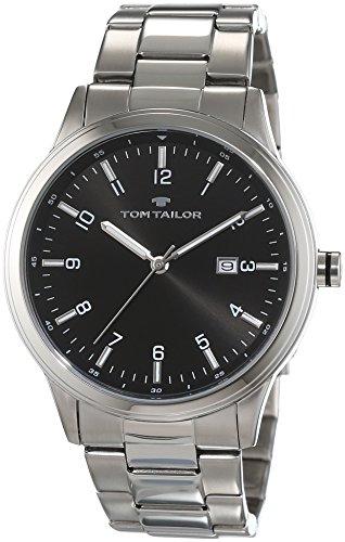 TOM TAILOR Herren-Armbanduhr Analog Quarz Edelstahl 5414104