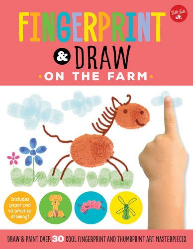 Thumbprint Drawing Book (Fingerprint & Draw: On the Farm: Draw & paint over 30 cool fingerprint and thumbprint art masterpieces (Drawing with your)