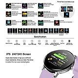 KingTo Fitness Tracker Heart Rate Monitoring Smart