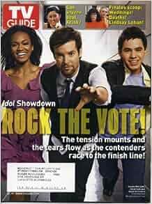 TV Guide May 19, 2008 David Cook & David Archuleta
