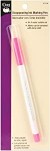 Dritz 677-20 Marking Pen, Disappearing Ink, Pink