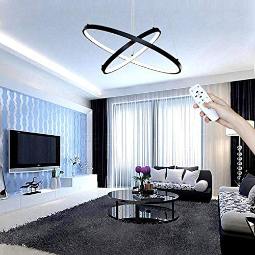 Contemporary LED Circle Chandelier