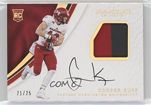 Cooper Kupp #21/25 (Football Card) 2017 Panini Immaculate Collection Collegiate - [Base] - Gold #122