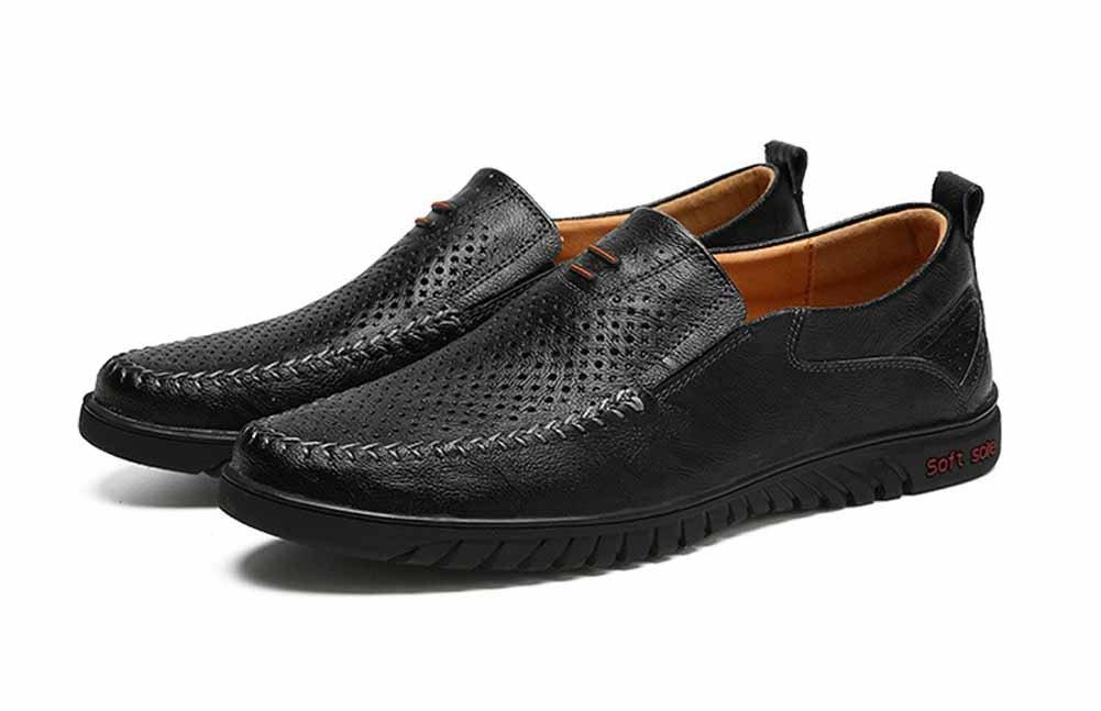 Männer Breathable Beiläufige Schuhe Frühling Sommer Hohl Flache Schuhe Mode Leichte Fahren Schuhe Große Größe