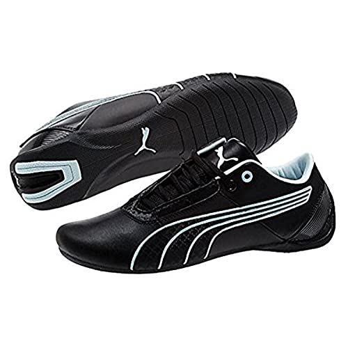c791d9be0d1e lovely Puma Women s Future Cat S1 Fast Shoes Black-Black-Omphalodes ...