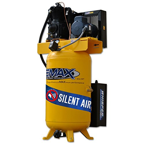5 HP Quiet Air Compressor Package, 3-Phase, 2-Stage, 80-Gall