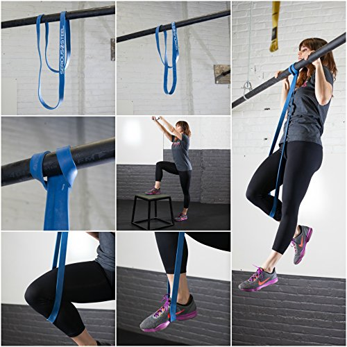 Serious Steel Fitness Green - #4 Average Pull-Up Assist & Stretching Resistance Band (Size: 1.75'' W, Resistance: 50-120lbs.) Pull-Up and Starter Band e-Guide Included by Serious Steel Fitness (Image #6)