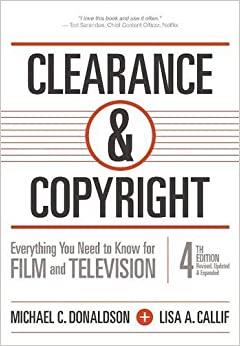 ((NEW)) Clearance & Copyright, 4th Edition: Everything You Need To Know For Film And Television. National provide Gilmari tight Twitter