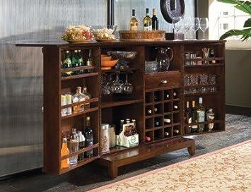 Gentil American Drew Tribecca Flip Top Home Bar