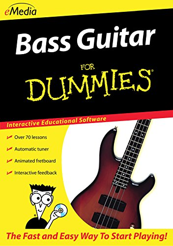 (eMedia Bass Guitar For Dummies [PC Download])