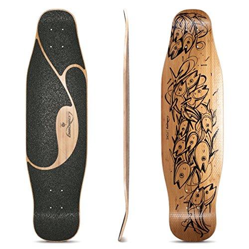 - Loaded Boards Poke Longboard Skateboard Deck