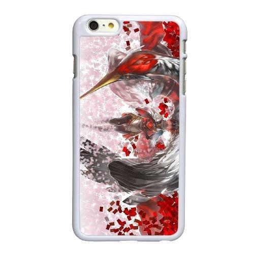 S5X83 Pixie et un V2G2SW aviaire coque iPhone 6 4.7 pouces cas de couverture de téléphone portable coque blanche WW6EHR2US