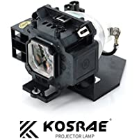 Kosrae Projector Replacement Lamp NP07LP with Bulb and Housing for NEC NP300 / NP400 / NP410W / NP500 / NP500W / NP500WS / NP510W / NP510WS / NP600 / NP600S / NP610 / NP610S projector