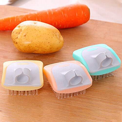 Almabner – Cepillo de Limpieza de Frutas y Verduras para Cocina, Utensilios de Cocina, Zanahorias, Patatas, Accesorio de…