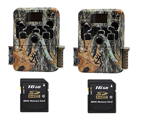 Browning STRIKE FORCE ELITE BTC5HDE Trail Game Camera (10MP) 2 Cameras With 2 16GB Memory Card by Browning Trail Cameras