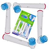ITECHNIK Sensitive Brush Oral B Replacement Toothbrush Heads for Oral B Rotating Rechargeable Handle,Pack of 4. offers