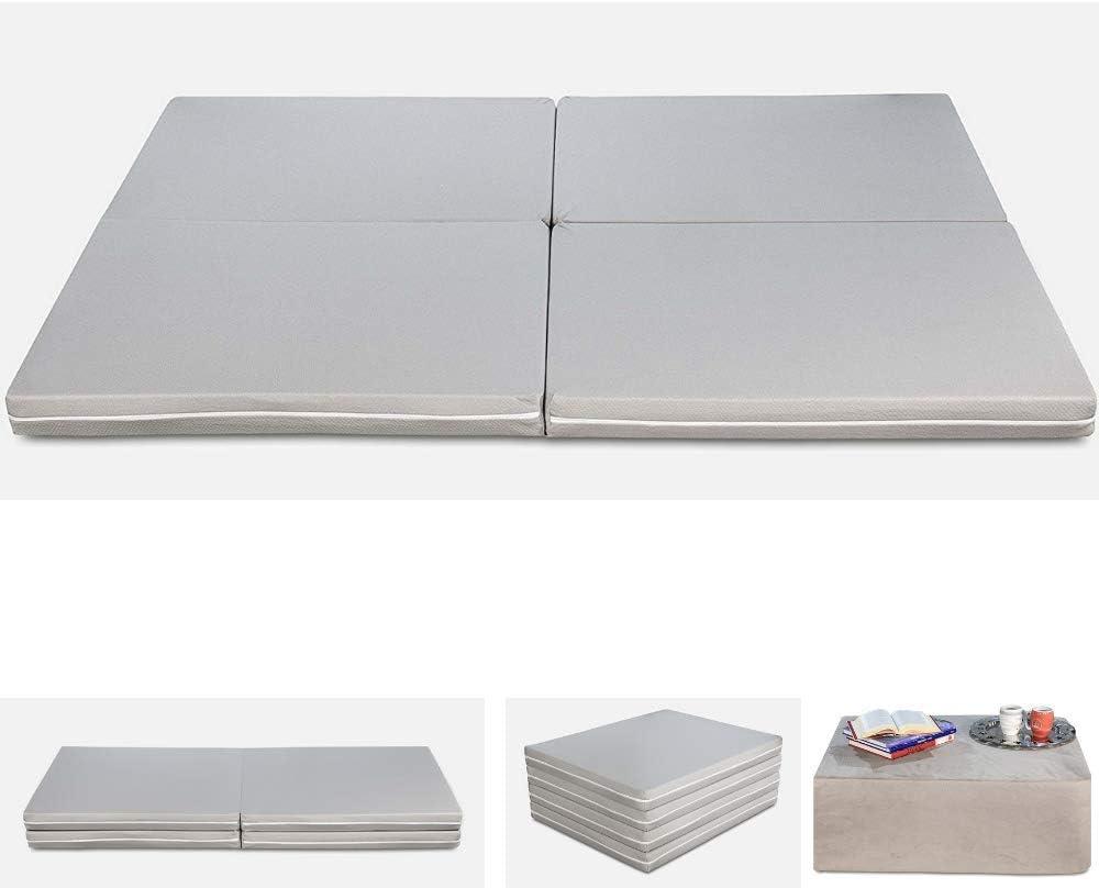 39x78 Inch Portable Collapsible Futon Mattresses Velvet Pad Double Mattress 100x200 Cm ,Gray,90x200cm WENYAO Thickened Lamb Cashmere Tatami Floor Mattress Pad Mat Grey