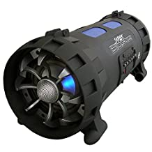 Pyle Street Blaster PBMSPG100 Rugged and Portable Bluetooth Wireless Boom Box