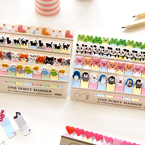 6 pcs/Lot Cartoon animal memo paper One point marker Post it sticky notes zakka stationery office supplies School supplies 6783