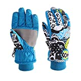 Kids Ski Gloves, Waterpoof for Children Winter Outdoor Sports Skiing,Cycling