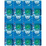 Oral-B Statin Tape Dental Floss 25m (12 Units) by Oral-B Satin Tape Mint