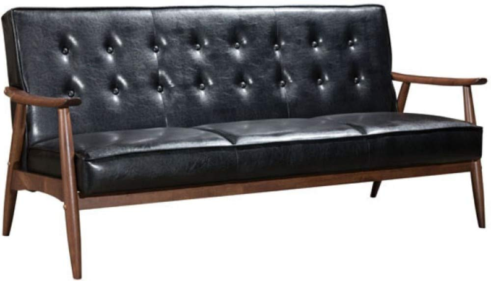 Enjoyable Amazon Com Zuo Modern 100531 Rocky Sofa Black Kitchen Dailytribune Chair Design For Home Dailytribuneorg