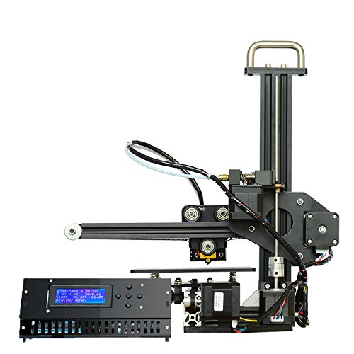MSQIN Full Aluminium DIY 3D Drucker Set MK8 Extruder Dü se LCD 2004A Display - EU X1
