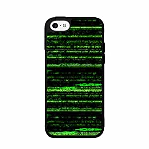 Matrix Number - Silicone Phone Case Back Cover (iPhone 5/5s)