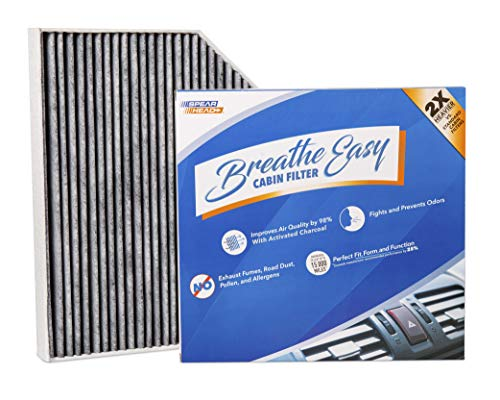(Spearhead Premium Breathe Easy Cabin Filter, Up to 25% Longer Life w/Activated Carbon (BE-179))