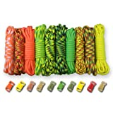 PARACORD PLANET 550lb Type III Paracord Combo Crafting Kits with Buckles (CITRUS)