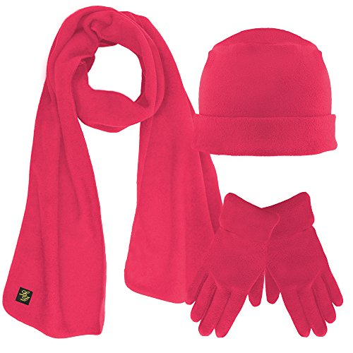 Pink Hat Gloves - 2