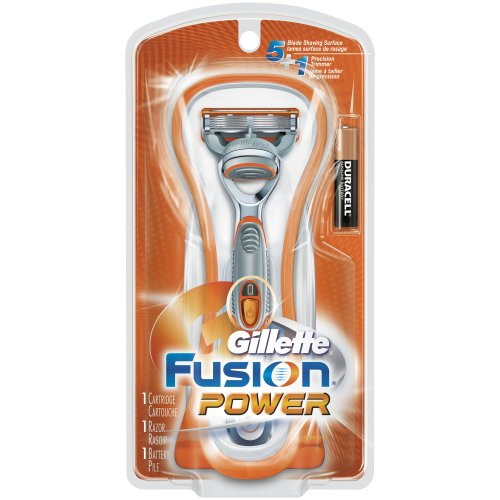 Gillette Fusion Power Men's Razor with 1 Razor Blade and 1 Battery (Gillette Fusion Power Proglide)