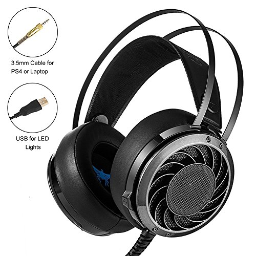 Mictchz Stereo Gaming Headset, M160 3.5 mm Over Ear Computer