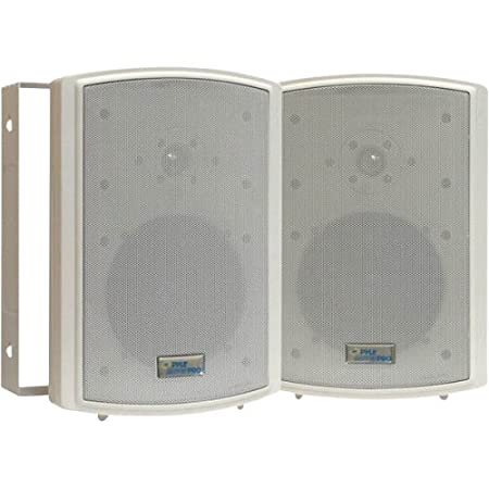 Pyle Home PDWR63 6.5-Inch Indoor/Outdoor Waterproof Speakers (Pair)