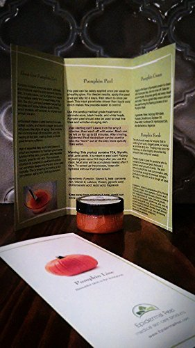 Pumpkin Peel Enzyme 2oz. Jar 30% Glycolic Acid, 30% TCA & 10% Lactic Acid - Enzyme Peel Mask