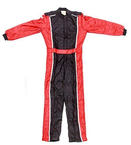 - Impact Racing Black/Red Medium The Racer 1 Piece Driving Suit P/N 24215407