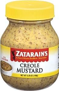 Zatarain's Creole Mustard 5.25 oz - 6 Unit Pack