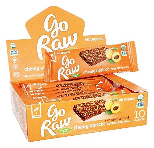 - GO RAW Organic Live Flax Bar Case, 0.42 OZ