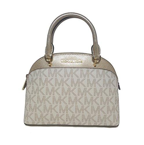 MICHAEL Michael Kors EMMY Women's Shoulder Handbag SMALL DOME SATCHEL (Designer Dome)