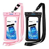 #8: Mpow Floating Waterproof Case, IPX8 Universal Waterproof Phone Pouch Underwater Dry Bag for iPhone X/8/8plus/7/7plus/6s/6/6s plus Samsung galaxy s9/s8 Google Pixel HTC up to 6.0