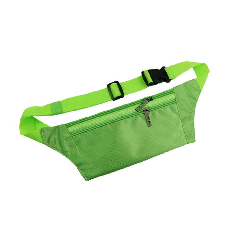 Foremost Unisex Handy Best Sports Belt for Runners,waist Pack/pouch, Fanny Pack, Travel Money Belt. (Green) by Unknown (Image #2)