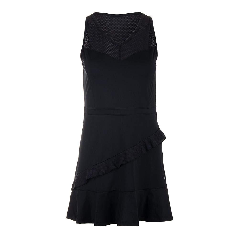 Fila Ruffle Dress (X-Small) Black