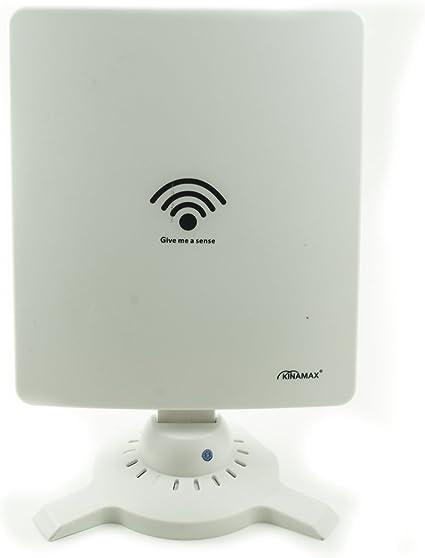 Kinamax - TS 9900 - Amplificador/repetidor de Wifi inalámbrico ultra-potente, conexión USB, 58 dbi