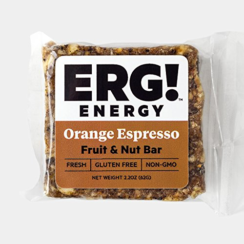 ERG! Energy Fruit and Nut Bars (12, Orange - Outlet Michigan Store
