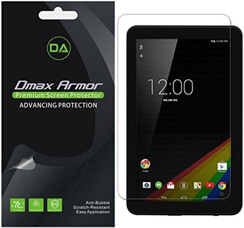 Dmax Armor [3-Pack] for Polaroid 9 Tablet (P909) Screen Protector, Anti-Glare & Anti-Fingerprint (Matte) Shield