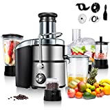 Goplus Juice Extractor 5-in-1 for Fruit, Vegetable and Meat...