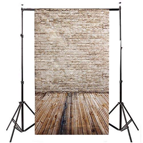 Photo Background, LESS CREASE Brick Wall Wood floor Pictorial cloth Grade AAAAA Customized photography Backdrop Background Studio Prop (Updated Material)