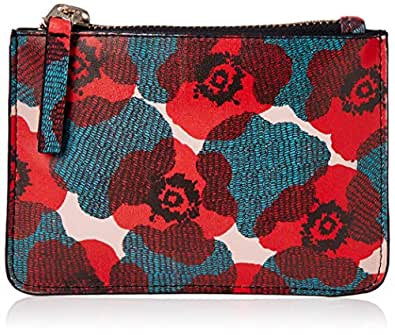 DAY FIVE STUDIOS Women's COIN CLUTCH POPPY, Red, One Size