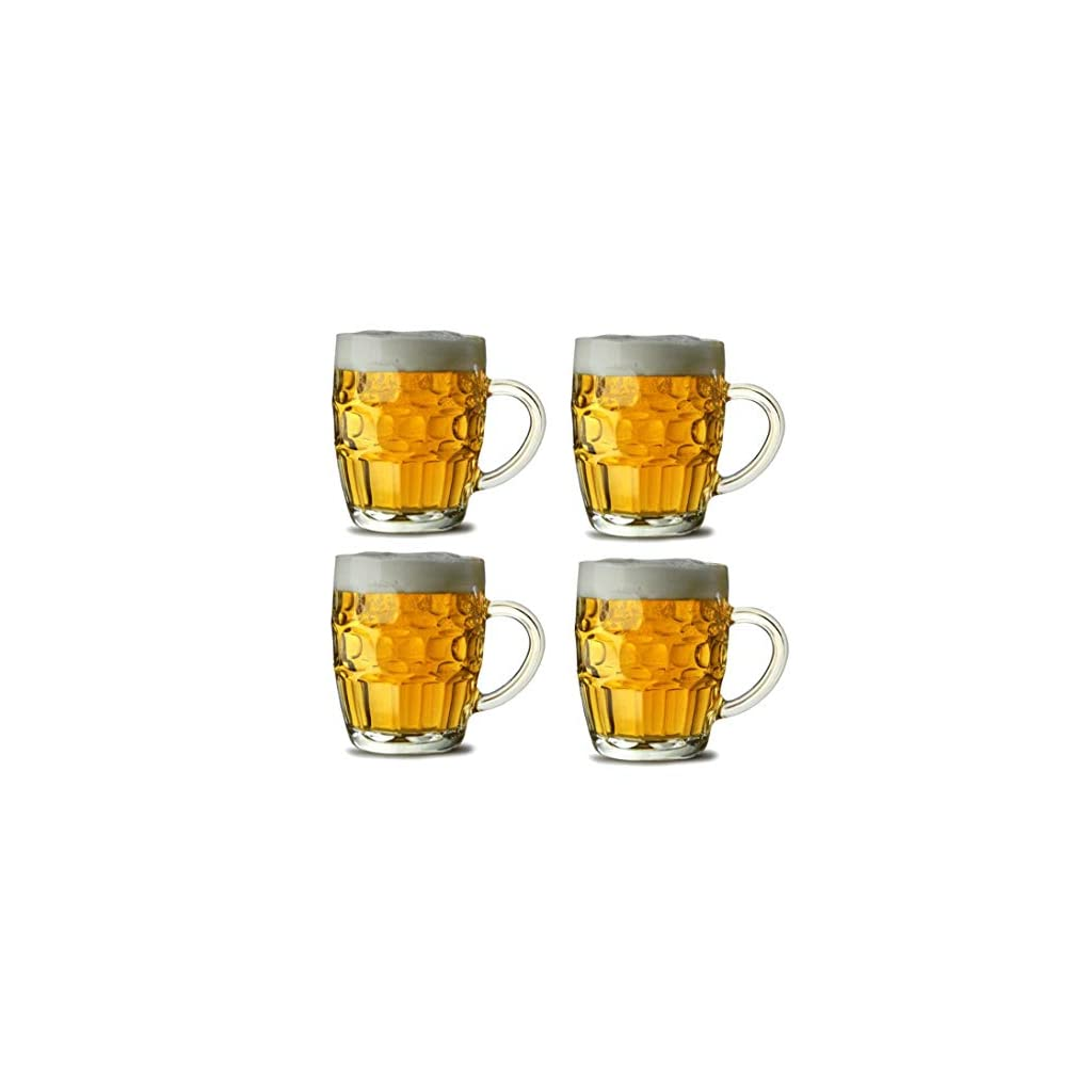 Dimpled Beer Tankards