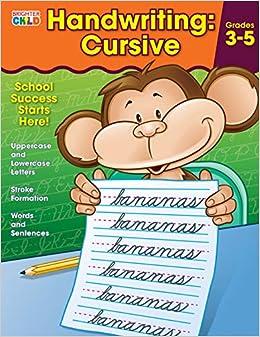 Handwriting: Cursive Workbook: Amazon.co.uk: Brighter Child: Books